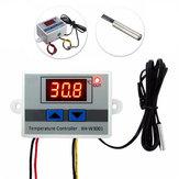 XH-W3001 220V 10A Dijital LED Sıcaklık Kontrol Cihazı Termostat Kontrol Anahtarı Probe