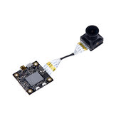 Hawkeye Firefly Split 4K 160 Degree HD Opptak DVR Mini FPV Kamera WDR Enkelt Board Innebygd Mic Lav Latency TV Utgang for RC Drone Airplane