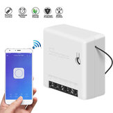 SONOFF Mini Switch inteligente de dos vías 10A AC100-240V Funciona con Amazon Alexa Google Home Assistant Nest admite el modo DIY Permite Flash el firmware
