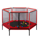 Child Jumping Trampoline Safety Indoor Playground Game Exercise