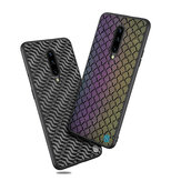NILLKIN Reflective Shining Lights Dynamic Fashion Woven Polyester Mesh Anti-fingerprint Protective Case for OnePlus 7 Pro