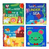 Gyermekek korai oktatás könyvei ruha baba korai tanulás intelligencia fejlesztése megismeri a szövet könyv oktatási játékokat