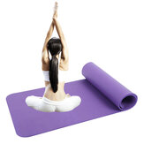 183x61x10mm Extra Thick Yoga Mats Nonslip TPE Pliates Mat Exercise Fitness Sport