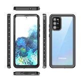Bakeey Outdoor Swimming Surfing IP68 Waterproof Shockproof Full Body Cover Transparent Protective Case for Samsung Galaxy S20+ / Galaxy S20 Plus 5G 2020