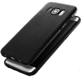 Soft TPU Silicone Ultra Thin Shockproof Leather Skin Bagsiden Case for Samsung Galaxy S8 Plus