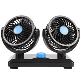 12V Portable Car Fan Dual/Single Head Cooling Cooler Fan For Car Van Caravans