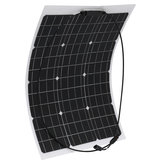50W 18V Monocrystalline Flexible ETFE Solar Panel For Home Car Boat