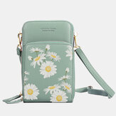Femmes Daisy Clutch Bag Card Bag Phone Bag Crossbody Bag