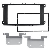 Dubbele 2Din Autoradio Fascia Frame Dashboard DVD Stereo Panel Trim Kit Voor Ford Focus Fusion C-Max Kuga s-Max Galaxy