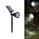 4W Solar 6 LED PIR Czujnik ruchu Flood Light Outdoor Lampa krajobrazowa do ogrodu stoczni