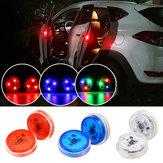 Inalámbrico universal LED Coche Luz de advertencia de apertura de puerta Seguridad Flash Señal Lámpara Anticolisión 3 colores