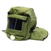 Protetor de jateamento de areia Sandblast capacete de jateamento de segurança para jateamento