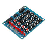 8 LED 4x4 Interruptor de Botón 16 Matrices Matriz independiente Teclado Módulo Para AVR ARM STM32