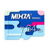 MIXZA Colorful Edition 64GB TF Micro Cartão De Memória Para Câmera Digital TV Caixa MP3 Smartphone