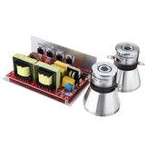 Controlador de transductor ultrasónico 132 * 85 * 45mm 28K / 40K 100W / 50W generador de PCB con transductores para limpiador ultrasónico