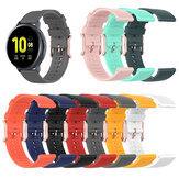 Bakeey 20mm Width Universal Pure Dot Pattern Comfortable Soft Silicone Watch Band Strap Replacement for Galaxy Watch Active3 Huami Amazfit GTS