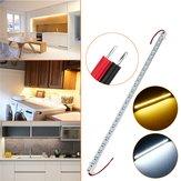 50CM SMD4014 14W 72 LED antiruggine non rigidi Bar Light Strip per Cabinet Kitchen Home Decor DC12V