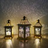Ramazan Lamba Eid Ismarlama Demir Rüzgar Fener El Sanatları Arap Feneri Çalışma Aydınlatma
