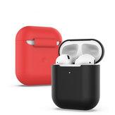 BakeeySiliconeàprovadechoque dirtproof armazenamento fone de ouvido Caso para apple airpods 1 / apple airpods 2