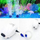 Ultra Silencieux Aquarium Compresseur D'air Pompe À Oxygène À Air Oxygène Simple Et Double Sortie Fish Tank Pump