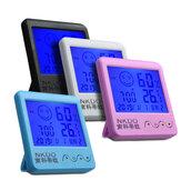 Alarme de higrômetro digital de mesa digital Relógio LCD Umidade da temperatura da tela