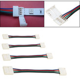 10/30/50 / 100CM 10MM 4-pins RGB Connector Kabel Wire Extension Cord Voor SMD5050 LED Strip Light