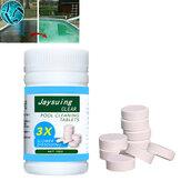 100 Pcs Swimming Pool Chlorine Tablets High Content Chlorine Effervescent Sanitizing Tablet Cleaning for Swimming Pool