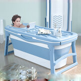 Lishu Large Folding Bathub Thicken Baby Pool Insulation with Temperature Sensitive Water Plug for Adults