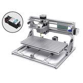 3018 3 Achsen Mini DIY CNC Router w / 2500mW Lasermodul Holzstich Schneiden Fräsen Graveur Maschine