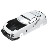 Box Packaging 1/10 RC Car Body Shell for Mazda RX-7 Tamiya On Road Drift Car Kit