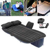 Car Inflatable Travel Camping Seat Sleeping Rest Colchão Air Bed with 2 Orelhas