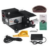 110-240V Multifunktionale Mini Bandschleifer Cutter Stufenlose Geschwindigkeit Elektrische DIY Polieren Schleifmaschine Werkzeug