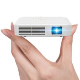 Coolux Q7 Mini Projetor Quatro Core Android OS 130 ANSI Lumens 1080p HD WIFI Bluetooth Projetor