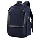 18 Zoll Laptop-Tasche Herren USB-Aufladung Wasserdichte Rucksäcke Multifunktions-Reisetasche Rucksack Herren-Umhängetasche Schule Tasche B00120
