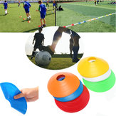 10 PCS Football Training Speed ​​Disc Cone Cross Roadblocks