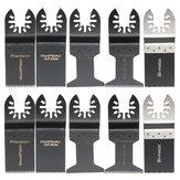 10pcs Oszillierende Multitool Sägeblätter Set für Fein Bosch Porter Oscillating Tools
