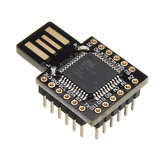 DC 5V USB ATMEGA32U4 Virtual Keyboard Module Mini Development Expansion Board Geekcreit for Arduino - products that work with official Arduino boards