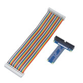 Caturda C0529 20cm Female to Female GPIO Cable + T Board Kit for Raspberry Pi