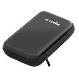 Rocketek opbevaringspose bæretaske Harddiskbeskyttelse til 2,5 '' HDD-harddiskpose Punch Box