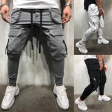 Men Pants Fashion Jogger Pants Men Fitness Gyms Pants for Runners Clothing Autumn Sweatpants