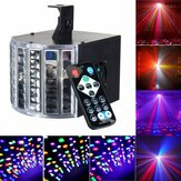 Sound Actived 30W DMX512 RGBW Led Stage Strobe Light DJ KTV Projector Disco