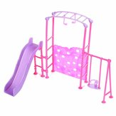 Slide Swing Set Accessoires Dollhouse Doll Furniture