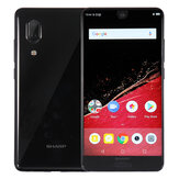 Sharp Aquos S2 (C10) Global Version 5,5 cala FHD + NFC 12MP + 8MP Podwójne tylne kamery 4GB 64GB Snapdragon630 4G Smartphone