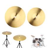 8/10 Inch Copper Alloy Crash Cymbal Drum Set