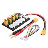4CH موازية مجلس شحن XT60 Banana Plug ل ISDT D2 Q6 T6 Lite إماكس B6 شاحن