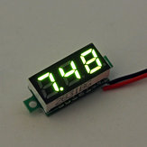 10Pcs Geekcreit® Green 0.28 Inch 2.6V-30V Mini Digital Volt Meter Voltage Tester Voltmeter