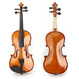 Deviser V-80 Spruce Solid Top 1/2 1/4 Violon with Case Rosin Bow