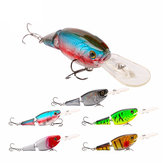 SeaKnight SK028 1PC 13.5g 70mm Рыбалка Lure Crankbait 2 секции 3D Глаза Hard Рыбалка Приманки