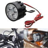 12V-80V DC 12W LED Leichtes Motorrad Roller Fahrrad Rückspiegel Lampe