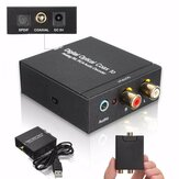 NK-Y2 Digital SPDIF Optical Coax to Analog RCA R/L DTS2.1/5.1 Audio Converter Decoder